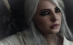 Picture character, cosplay, cosplay, The Witcher 3: Wild Hunt, The Witcher 3: Wild Hunt, CRIS, Cirilla