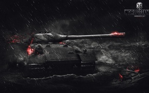 Picture Game, Germany, Art, Games, World of Tanks, Wargaming.net, VK 72.01 (K), FuriousGFX