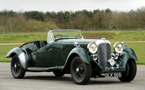 Picture retro, Rapid, Lagonda, Rapide, 1937, Lagonda, LG45, Tourer, the front