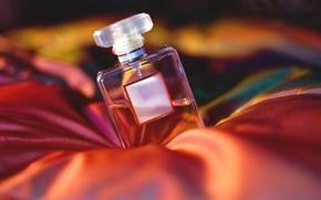 Wallpaper bokeh, perfume, bubble, fabric