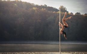 Picture dance, pole, acrobatics, Chris Silya, not a strip