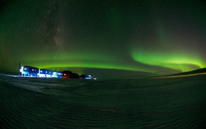 Picture Antarctica, Life on Ice, Research Station, Halley-VI