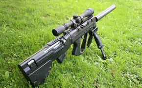 Picture grass, SS tikka T3 Ctr, long range rifle