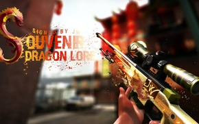Picture Weapons, CSGO, AWP, Dragon Lore