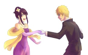 Picture Naruto, naruto, art, Hinata, invitation to dance