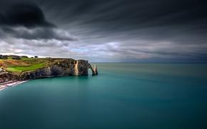 Picture sea, rocks, coast, arch