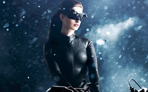 Wallpaper The Dark Knight Rises, glasses, The dark knight: the legend, Anne Hathaway, Catwoman, Catwoman, Selina ...