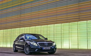 Picture Mercedes, sedan, 2013, the flagship, S class