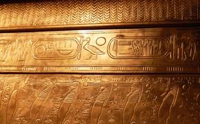 Picture characters, Egypt, Tutankhamun, tomb