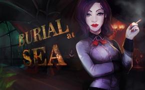 Picture 2K Games, Elizabeth, Irrational Games, BioShock Infinite, Burial at Sea