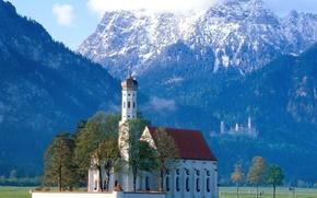 Wallpaper Germany, Bayern, Church