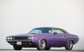 Picture retro, 1971, muscle car, Dodge, classic, dodge, challenger, muscle car