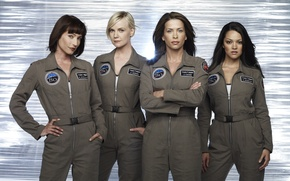 Picture The series, astronauts, Movies, Defying gravity, the main actress of the series