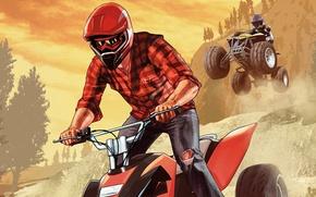 Picture sport, ATV, Grand Theft Auto V, Rockstar Games, GTA Online