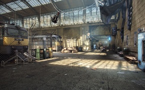 Wallpaper rendering, game, Half-Life 2, City 17, UDK, Unreal Engine, Logithx