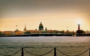 Picture the sun, Saint Petersburg, Saint-Petersburg, Neva