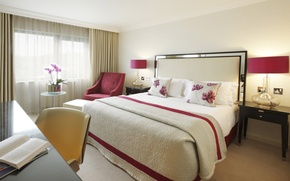 Picture design, style, room, furniture, bed, interior, bedroom, light