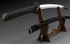 Picture Sword, Weapons, Katana