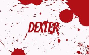 Wallpaper dexter, blood, Dexter