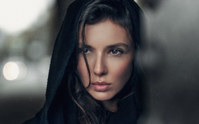 Picture Look, Model, Lips, Face, Hair, Eyes, Russian, Beautiful, Everyday, Portet, Maria Balai