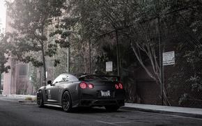 Picture Matt, Nissan, GT-R, black, Nissan, rear