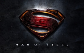 Picture Poster, Logo, Superman, Man of steel, Man of Steel