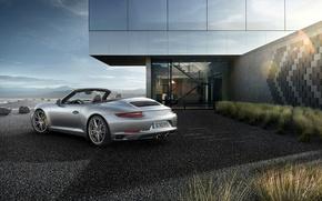 Picture house, 911, Porsche, ladder, Porsche, Carrera, Carrera