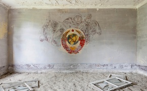 Picture room, Windows, coat of arms