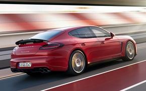 Picture car, Porsche, Panamera, Porsche, speed, Panamera, GTS