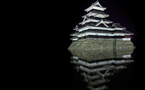 Wallpaper Reflection, Matsumoto, Castle
