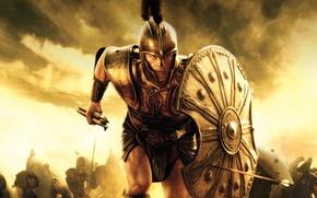 Picture Brad Pitt, Troy, Achilles