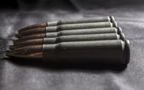 Picture weapons, macro, cartridges, background