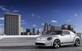 Picture the city, home, Volkswagen, E-Bugster