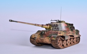 Picture toy, tank, model, King Tiger, heavy, Royal Tiger, Sd.Car.182