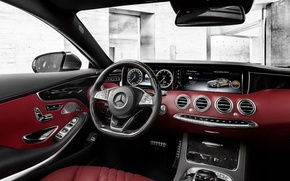 Picture Mercedes-Benz, Coupe, S-Class