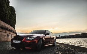 Picture machine, auto, BMW, optics, auto, E60, 5-series