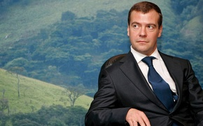 Picture look, picture, President, Dmitry Medvedev