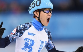 Picture victory, helmet, Russia, the winner, RUSSIA, Sochi 2014, The XXII Winter Olympic Games, Sochi 2014, ...