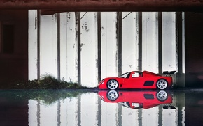 Picture water, reflection, supercar, supercar, gtr, ultima, reflection, Ultima
