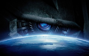 Picture space, fiction, planet, Transformers, poster, Transformers