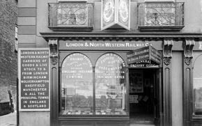 Picture retro, the building, London