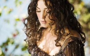 Picture girl, movie, woman, brunette, Monica Bellucci, Manuale dam3re, Love - instructions for use, Monica Bellucci