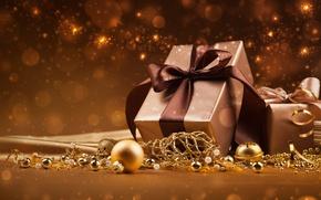 Picture stars, decoration, lights, lights, balls, new year, gifts, new year, balls, stars, decoration, gifts, ornaments, …