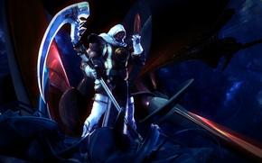 Wallpaper warrior, stick, Soul Caliber