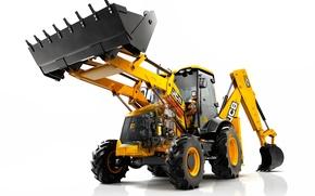 Picture Excavator, JCB, loader, 3CX