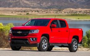 Picture Chevrolet, Red, Colorado, Z71, PickUp