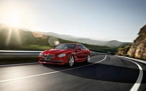 Picture road, speed, BMW, Boomer, BMW M6, Beha