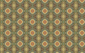 Picture flower, background, Wallpaper, tile, texture, ornament, colorful, the sun, geometric shapes, floral patterns