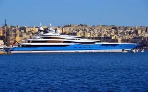 Picture yacht, luxury, Madame GU