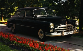 Picture retro, USSR, Gas 012 Winters 1950-59